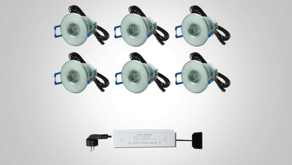 4 Watt-Sets 350 Lm– nicht dimmbar