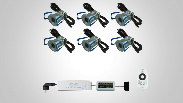 4 Watt-Sets 320 Lm– dimmbar